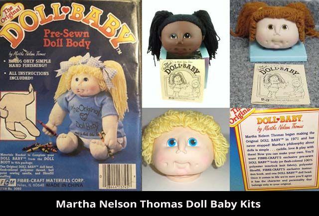 Martha Nelson Thomas Doll Baby Kits Cabbage Patch Dolls Cabbage Patch Kids Cabbage Patch Kids Dolls
