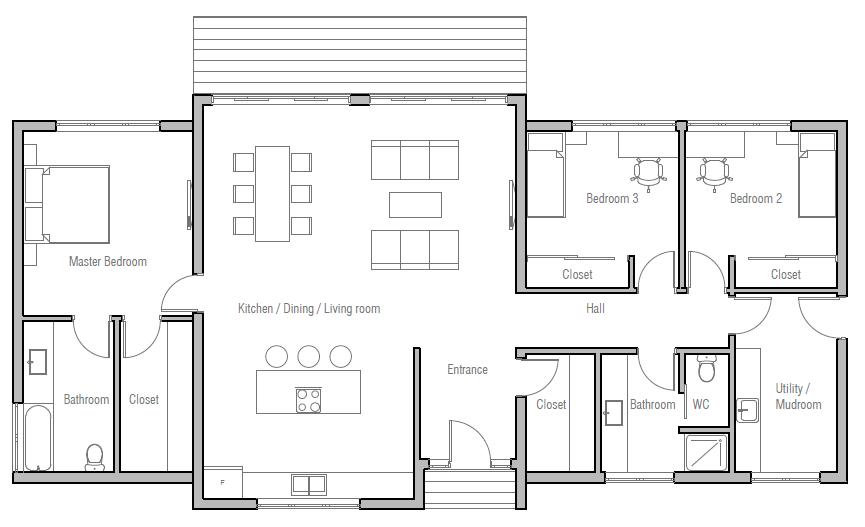 House Design House Plan Ch402 10 My House Plans Small House Plans House Design