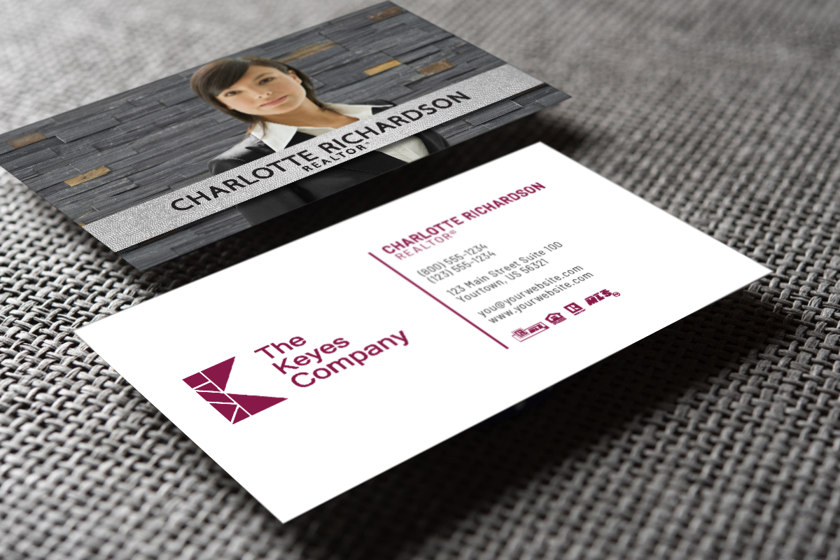 New Business Cards For The Keyes Company Realtor Thekeyescompany Realestate Realtors Realty Realtorl Realtor Business Cards Business Cards Online Cards