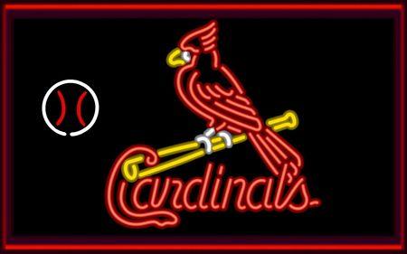 Cardinals Neon Desktop Nexus Wallpapers St Louis Cardinals Baseball Cardinals Baseball St Louis Cardinals