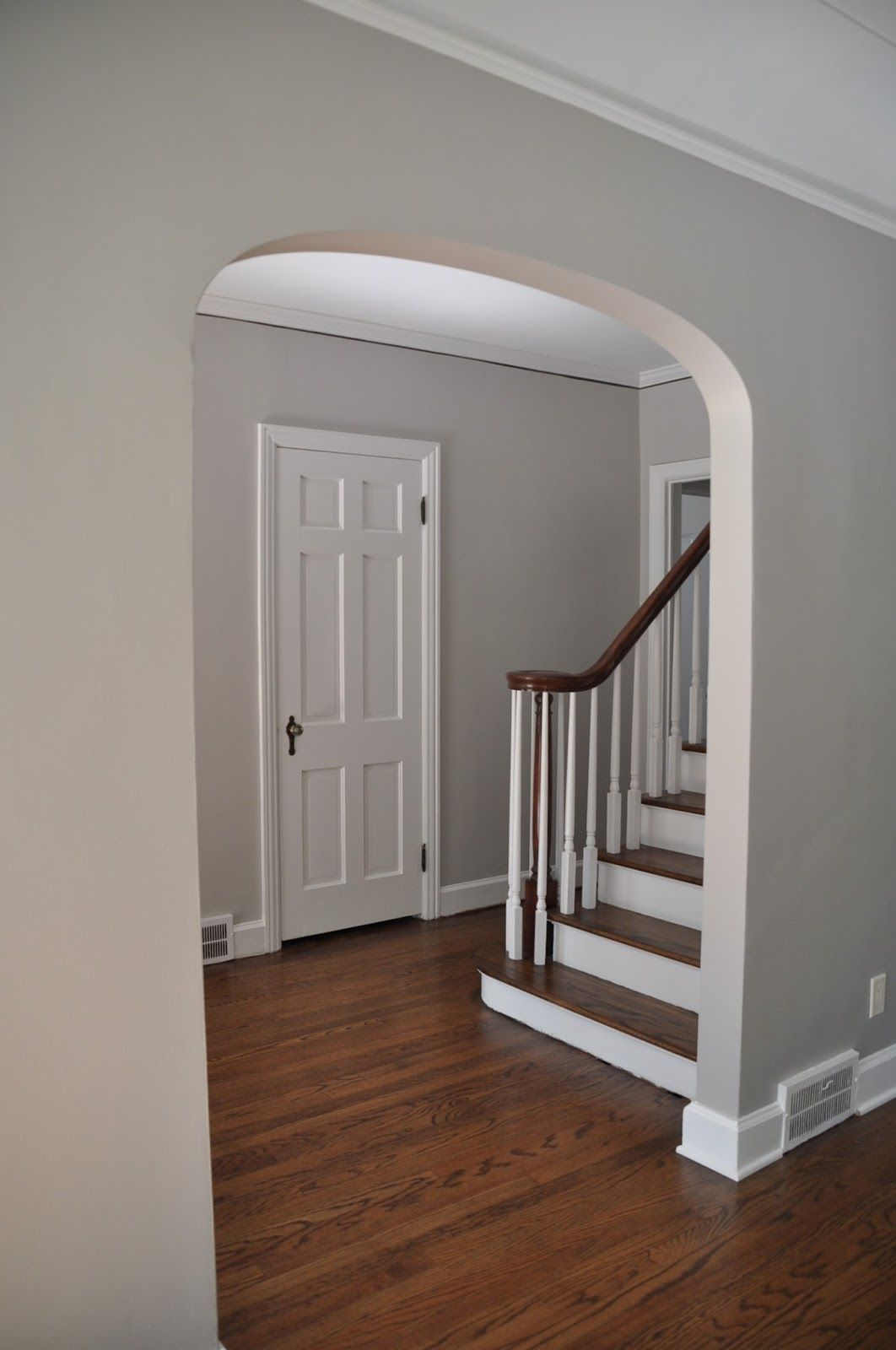 The Crawford Clan Foyer Before Progress And Plan Paint Colors For Living Room Home Decor Best Wall Colors
