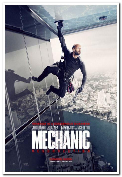Mechanic Resurrection 2016 Original 27x40 Adv Movie Poster Jason Statham Resurrection Movie Mechanic Resurrection Jason Statham Movies