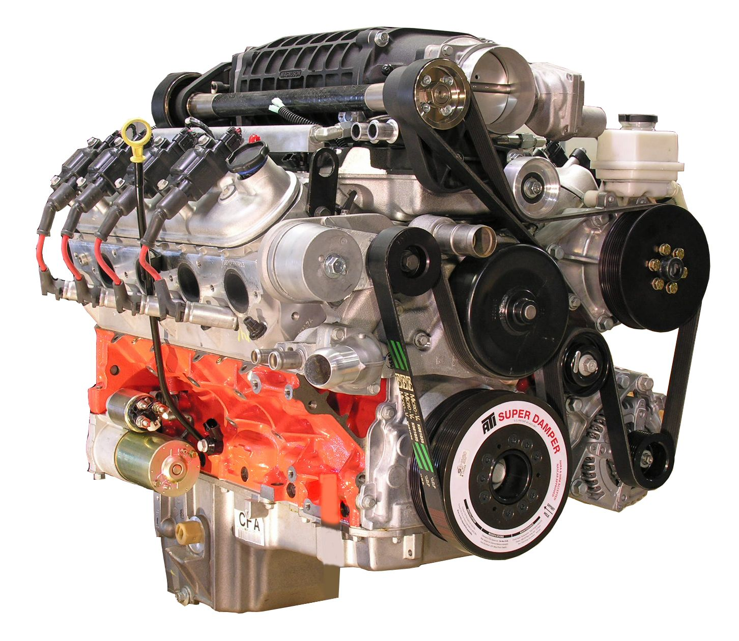 Ls1 Supercharger Magnuson: LSx 427 Engine With TVS2300 Magnuson Supercharger & T56