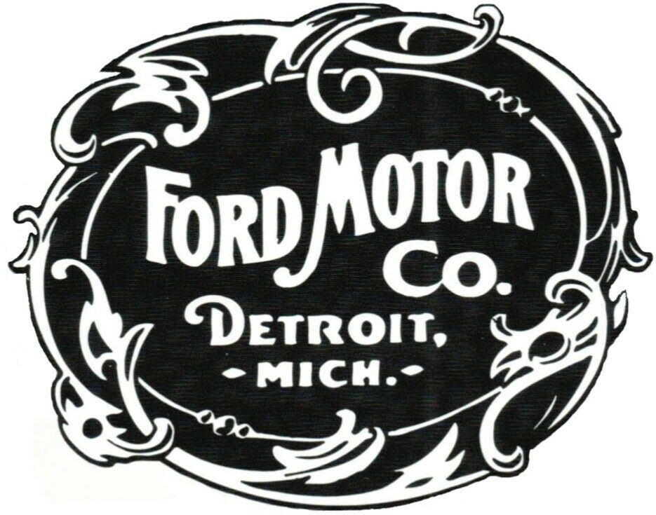 Vintage Ford Decal Classic Ford Logo Auto Decal Fashion Home