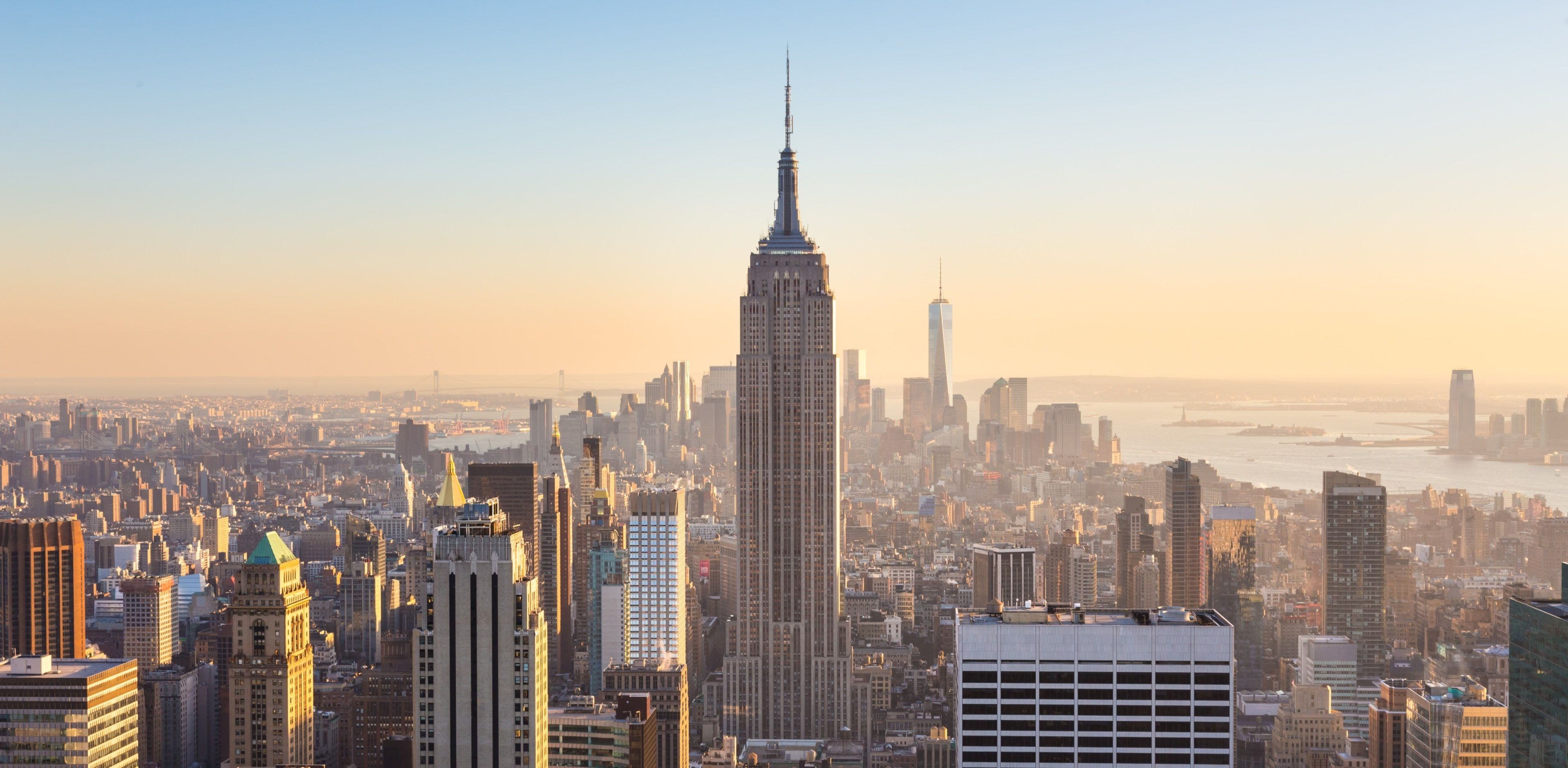 3840x1882 New York 4k Wallpaper Download Free For Pc Hd New York City Manhattan Empire State Building Empire State