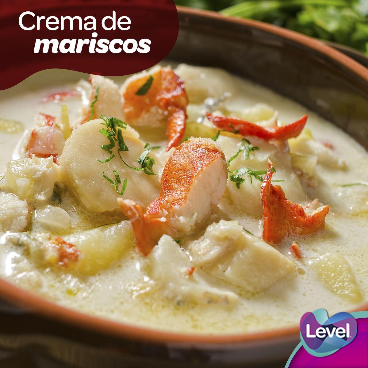 Crema de mariscos, una opción deliciosa para comer en cuaresma.
