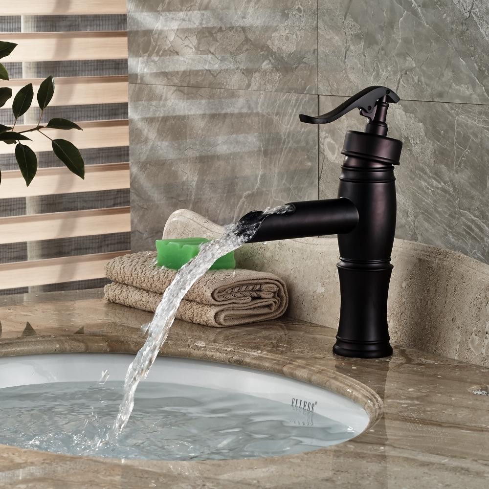 58.65$ Watch here - Oil Rubbed Bronze Water Pump Bathroom Basin ...