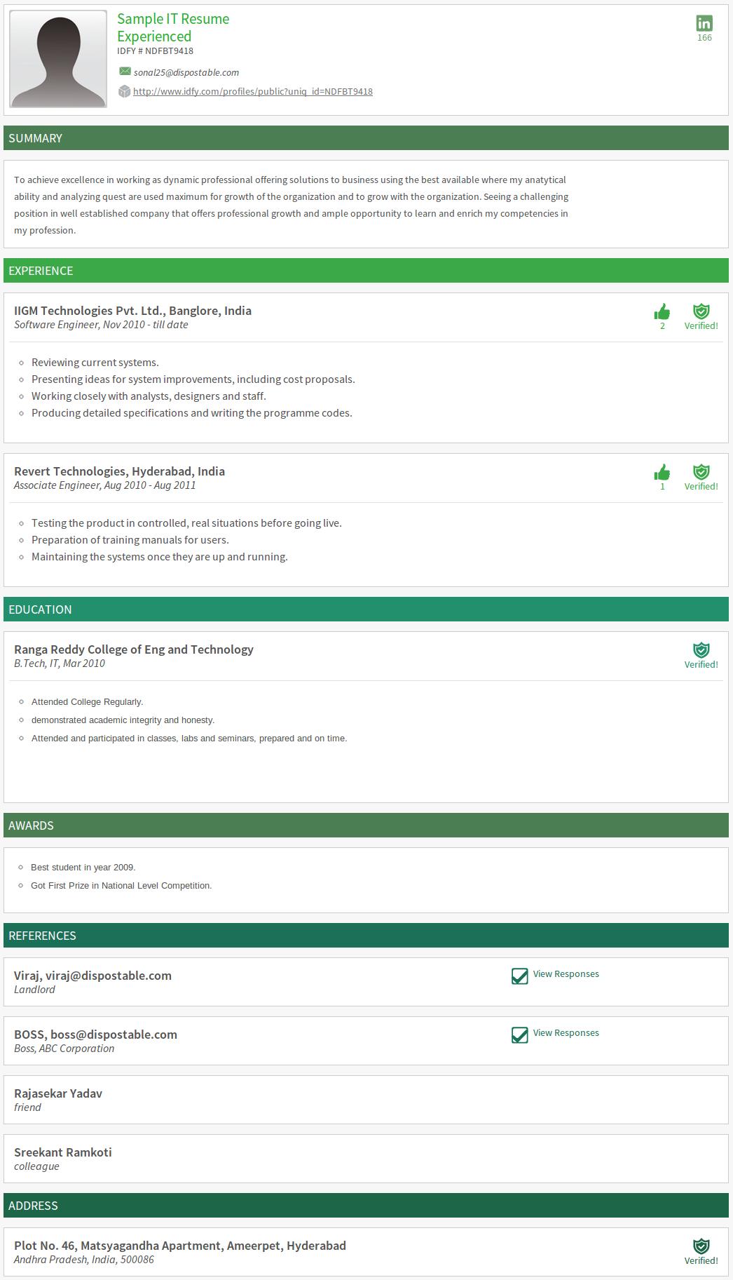 Resume Format For Bpo Jobs Vishnu.p.b 93Vishnupb On Pinterest