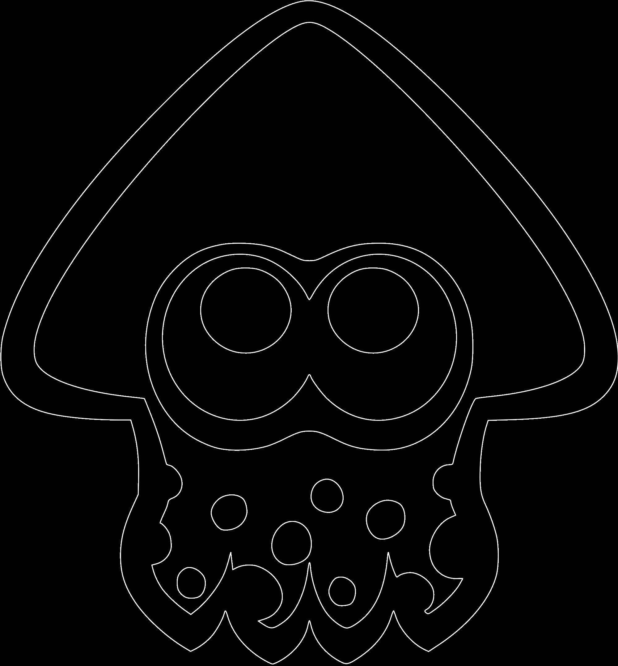 2000px Squid Icon Splatoon Svg Png 2 000 2 154 Pixels Kids Party Themes Nintendo Party Pokemon Pumpkin