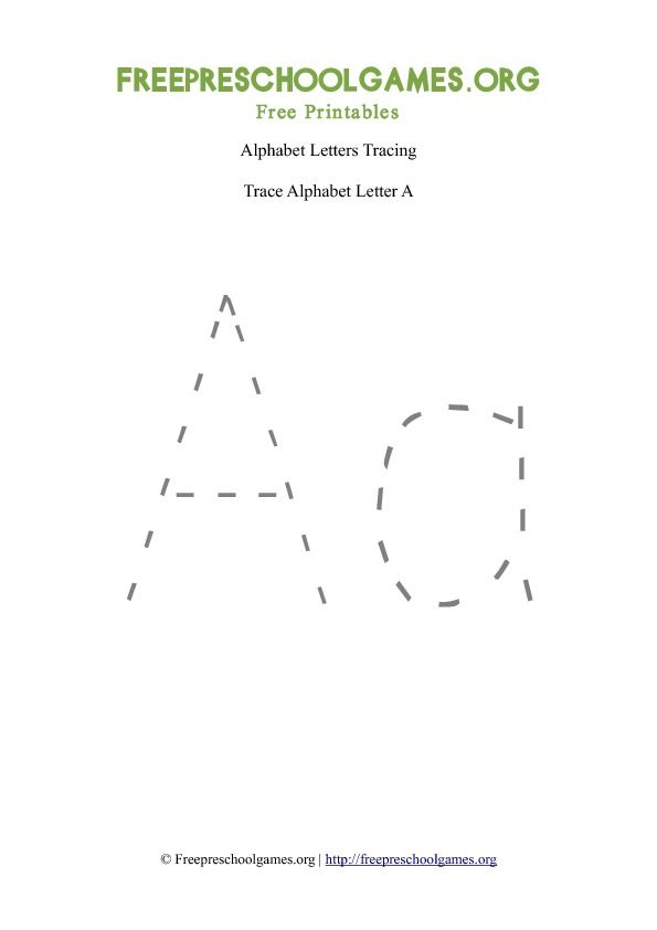 Preschool ABC Tracing Letters this link works. you get all 26 ...