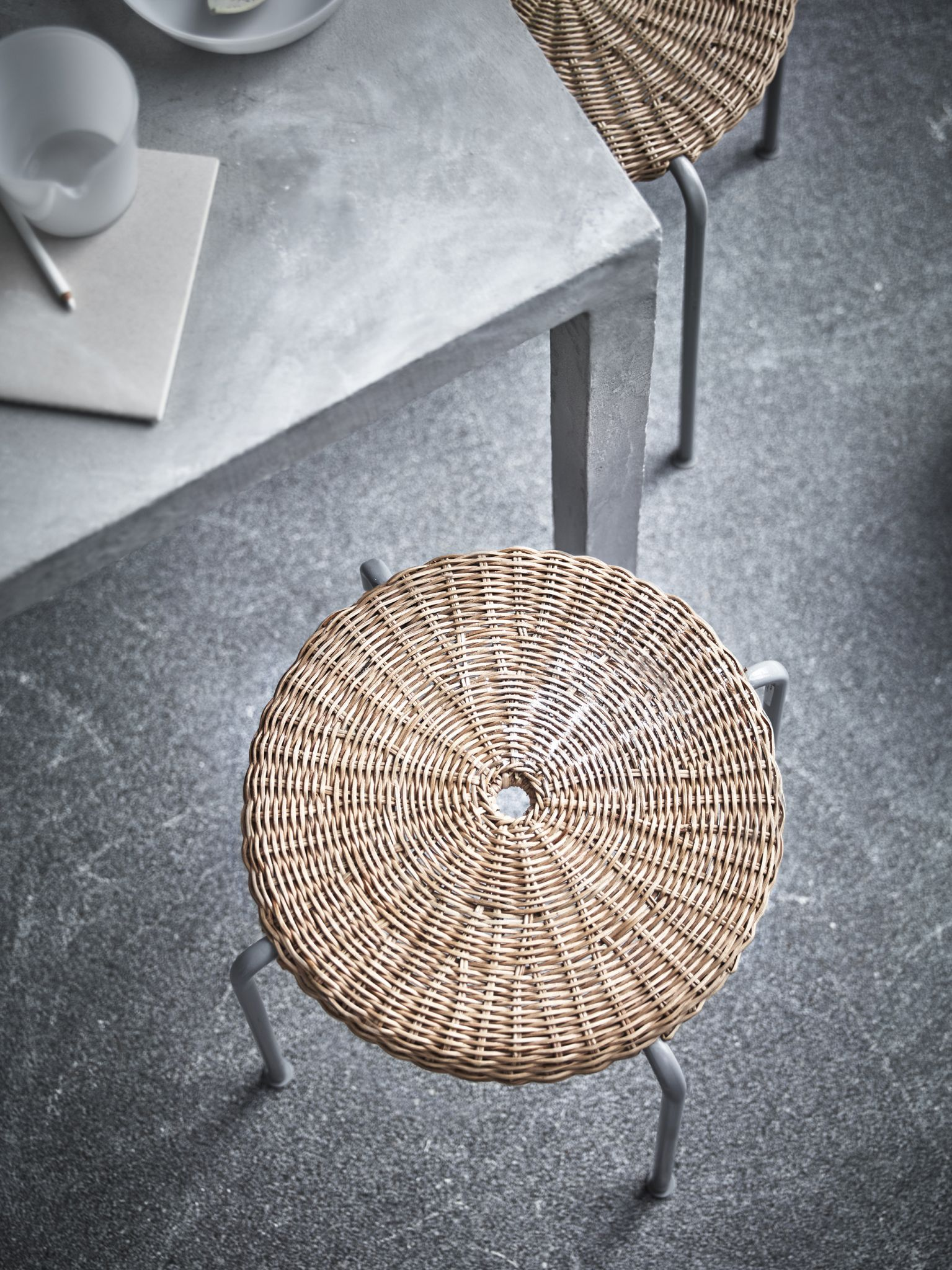 Stool from the Ikea Viktigt collection. | objects | Pinterest ...