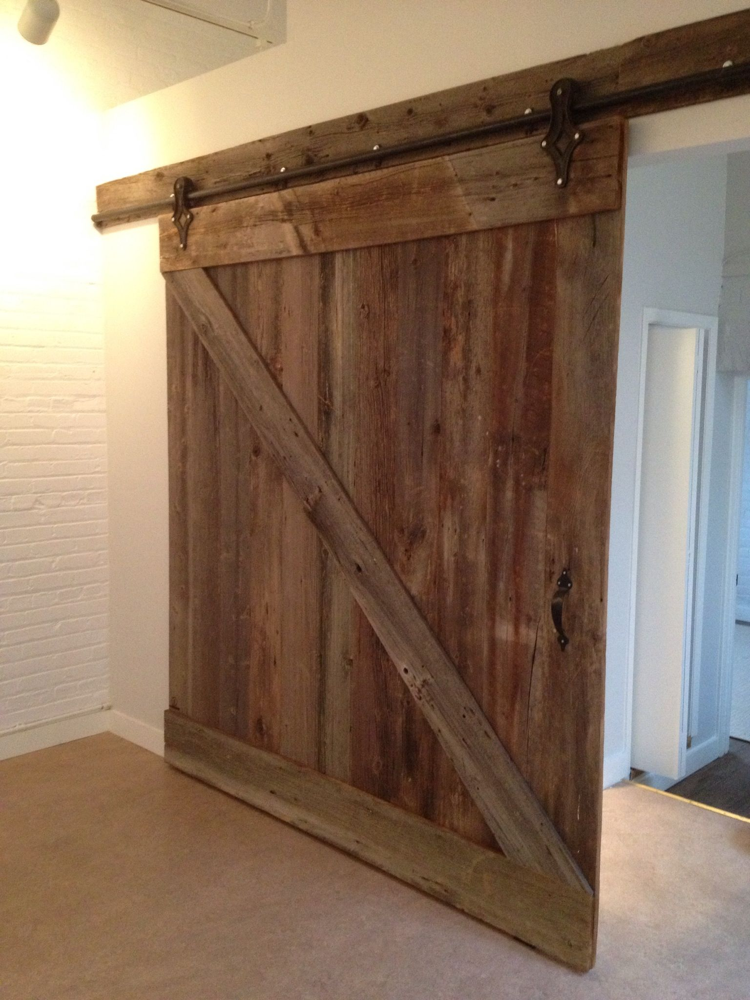 Pin By Liz Collins On Loft Doors Loft Door Barn Style Doors Ny Loft
