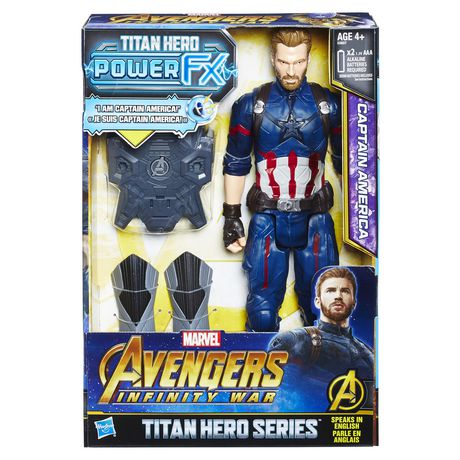 New Marvel Avengers Infinity guerre Titan Hero Power FX BLACK WIDOW