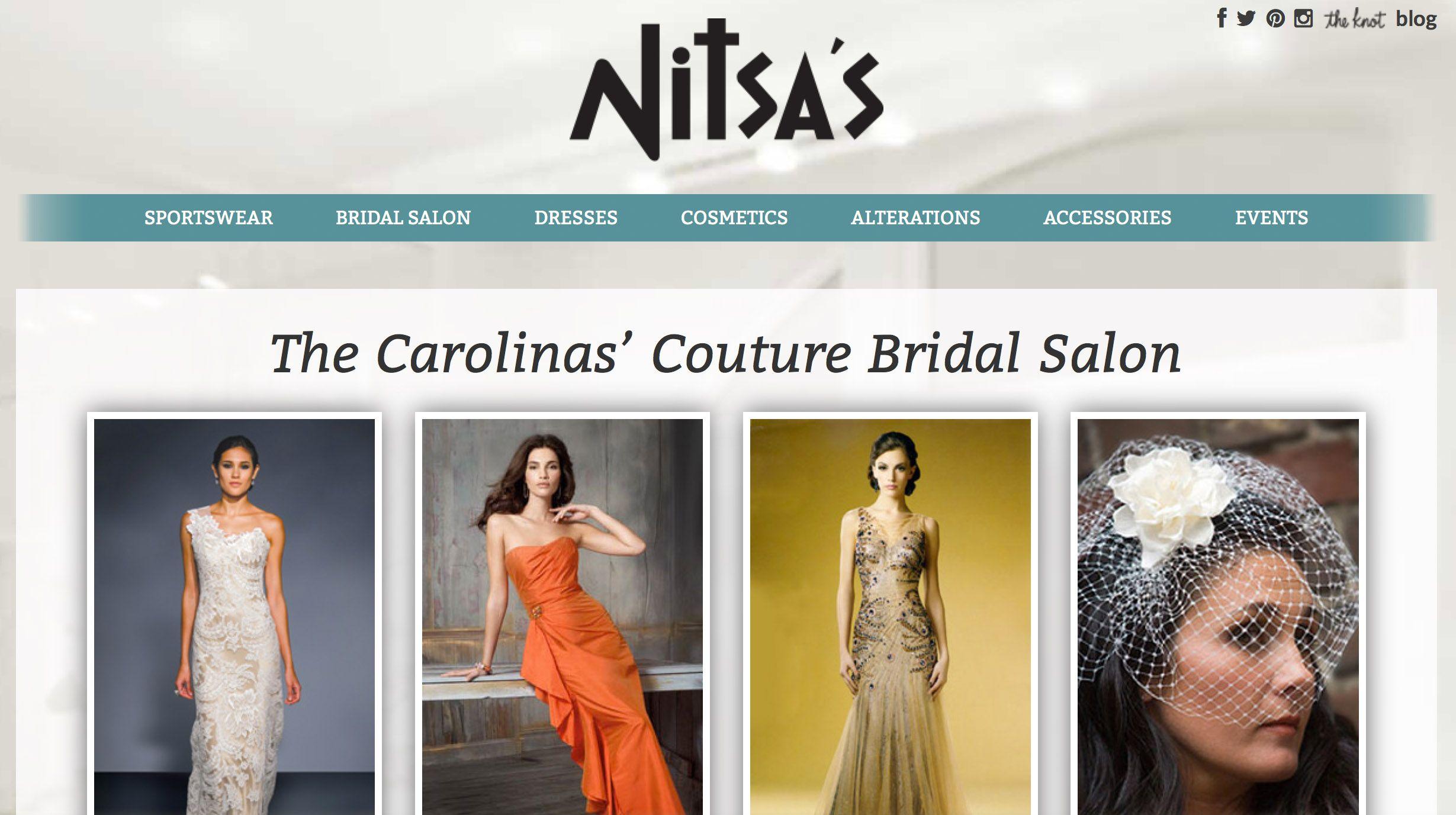 Nitsas apparel charlotte nc bridal shop charlotte nc wedding nitsas apparel charlotte nc bridal shop charlotte nc wedding dresses ombrellifo Gallery