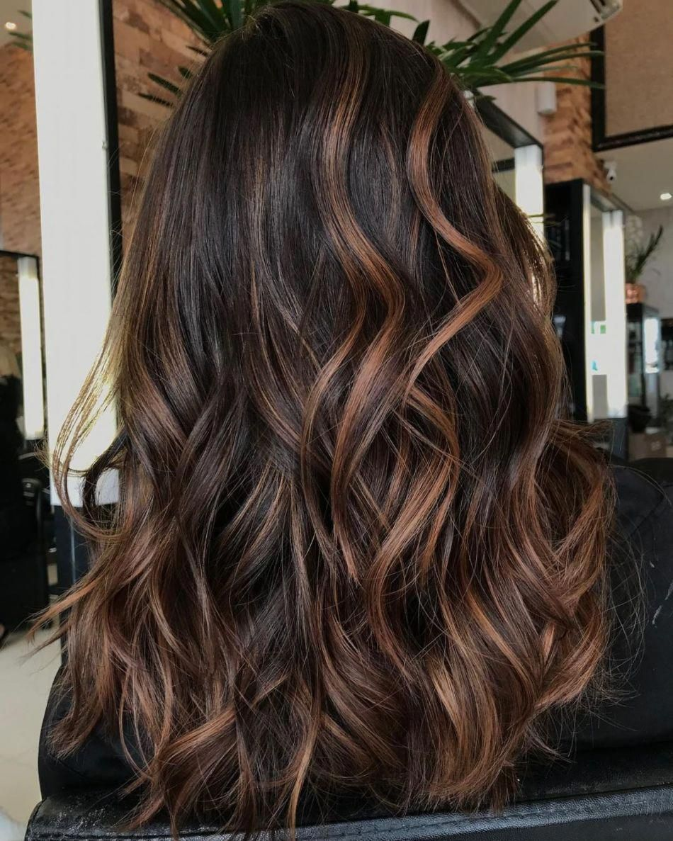 Caramel Highlights For Brunettes #hairstyles | hair in 2019 ...