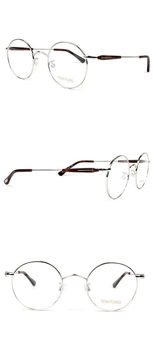 Tom Ford FT5344/V 016/45-21 Silver Round Optical Frames | Pinterest
