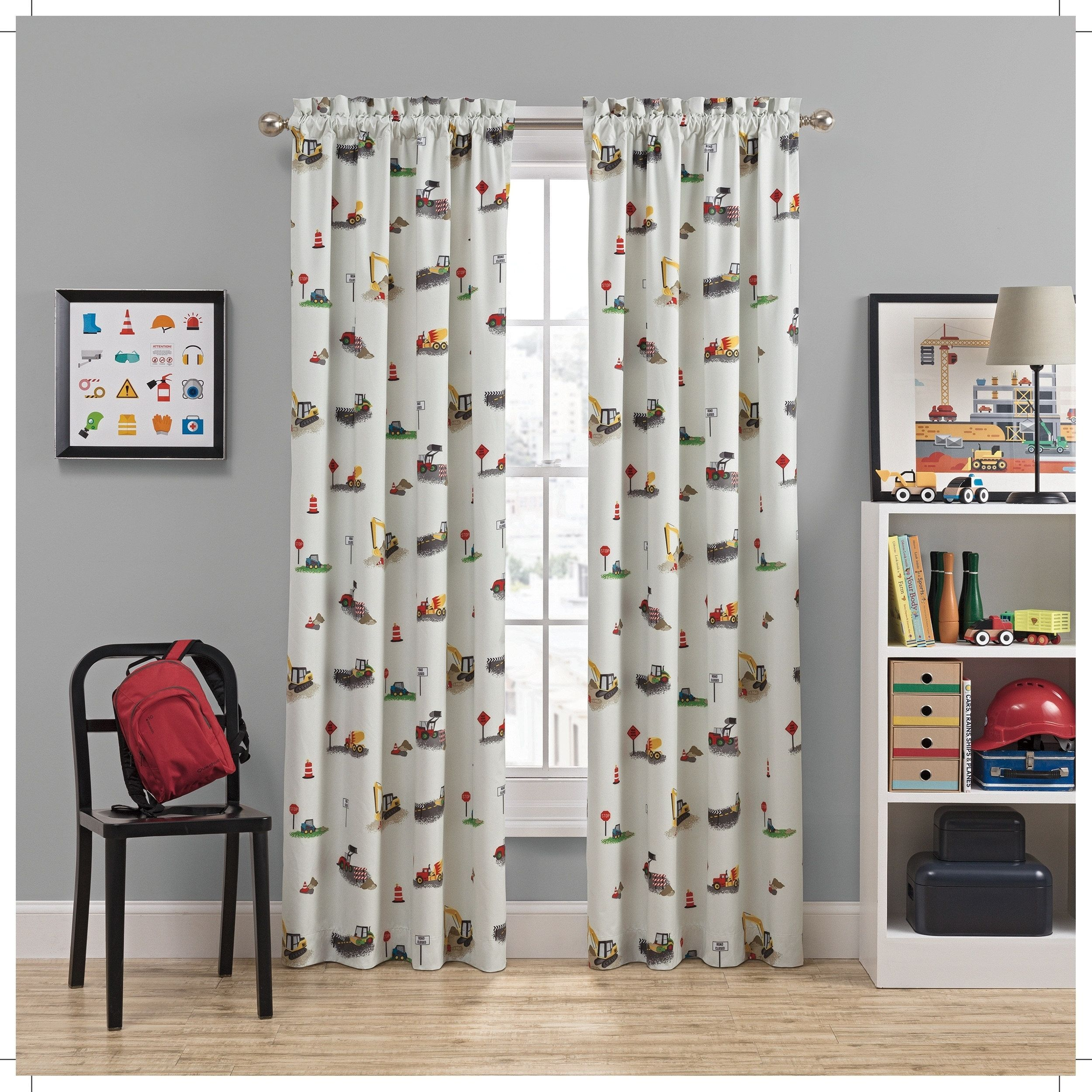 Waverly Kids Can You Dig It Blackout Window Curtain (63 ...
