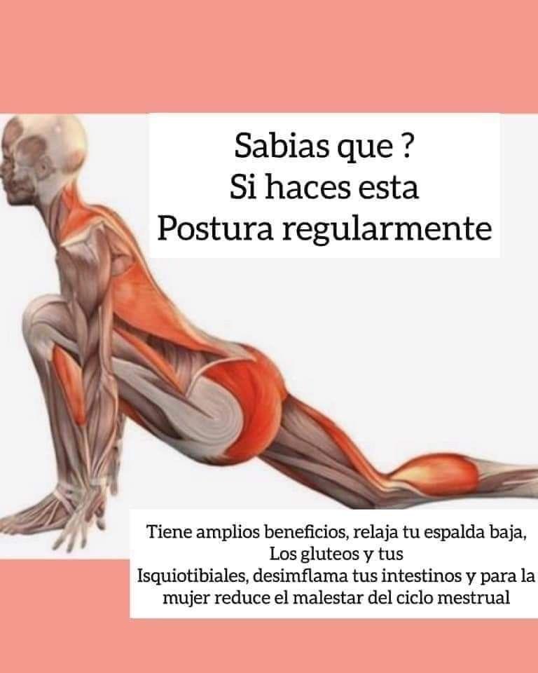 Estiramiento Muy útil Para Evitar Grandes Problemas Informacion Dolor Espalda Movimientos De Yoga Ejercicios De Yoga Ejercicios De Acondicionamiento Físico