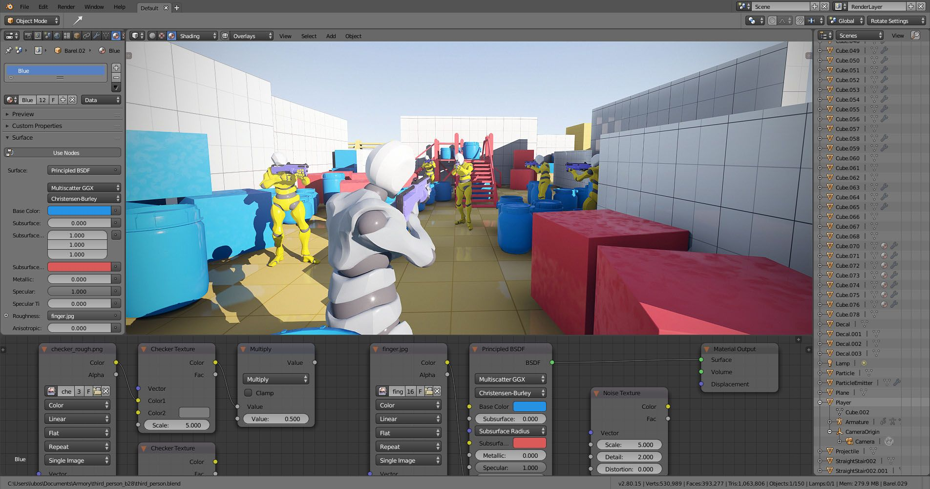 Armory 3D Game engine for Blender Game engine, Indie