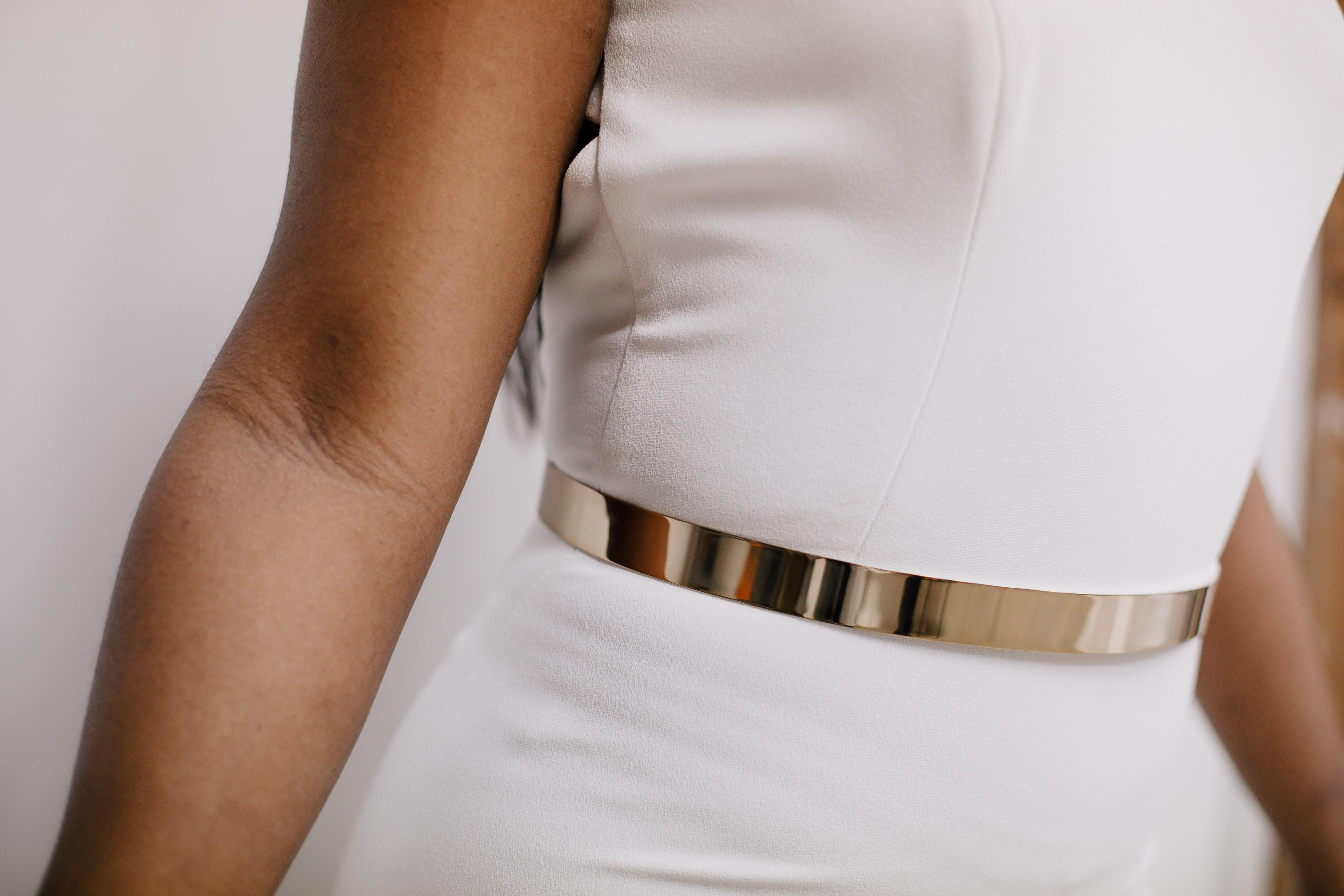 Gold Metal Belt Wedding Dress Accessories Belt Gold Wedding Dress Belt Gold Metal Belt