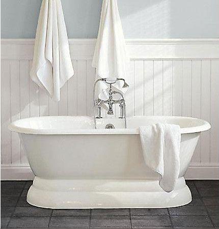 Delightful Palais Pedestal Tub   White Timber   Traditional Style Bathtub U0026 Tapware    By Restoration Hardware