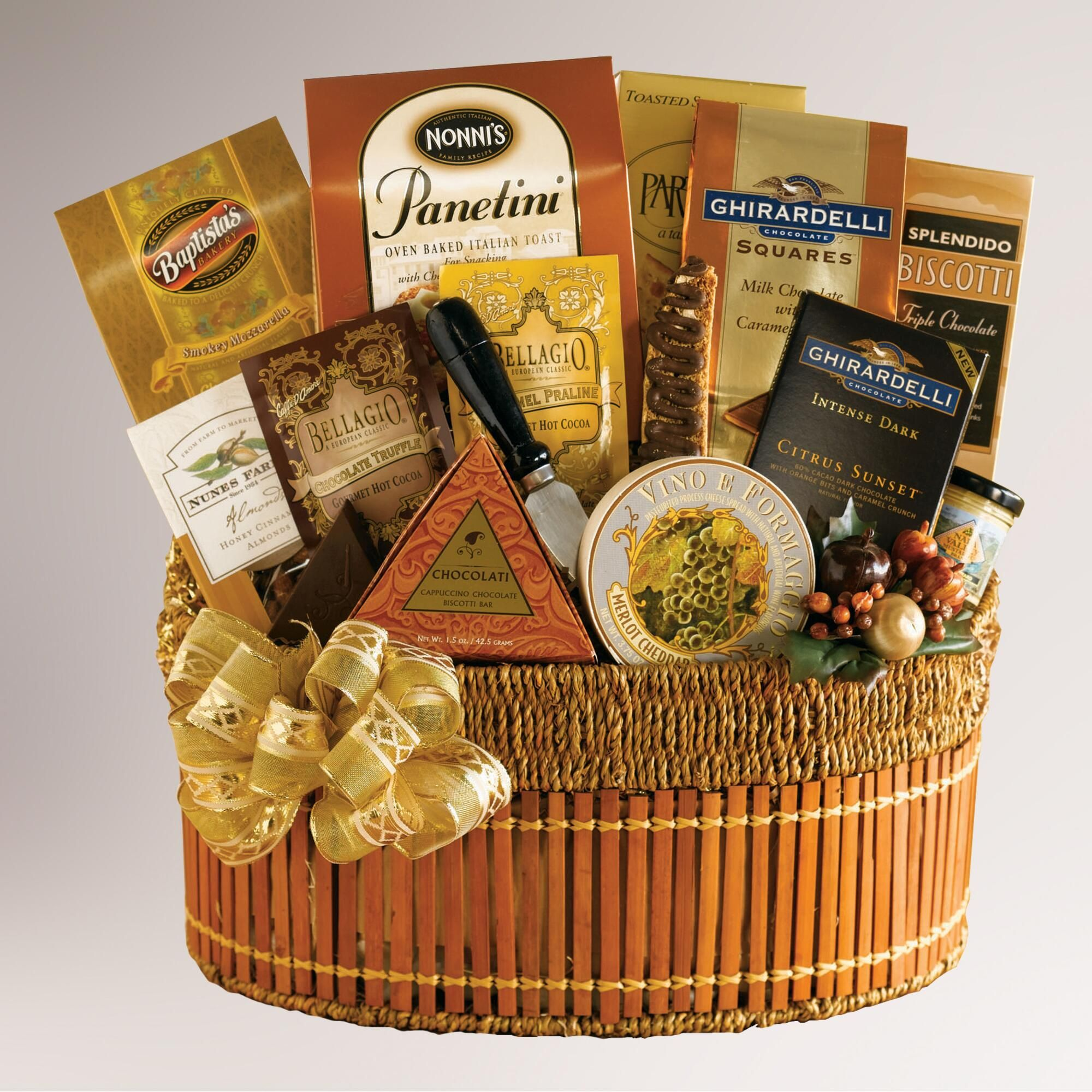 Gourmet Hot Chocolate Gift Basket 2021