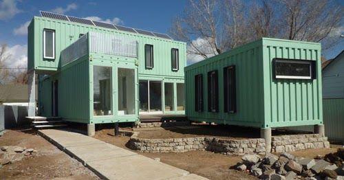 Ecosa estudio de dise o flagstaff arizona casa for Diseno de oficinas con contenedores