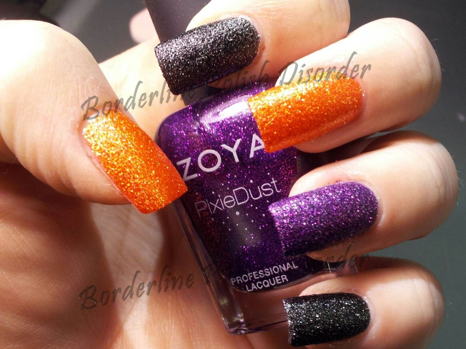 Zoya Dhara (orange), Dahlia (black) and Carter (purple ...