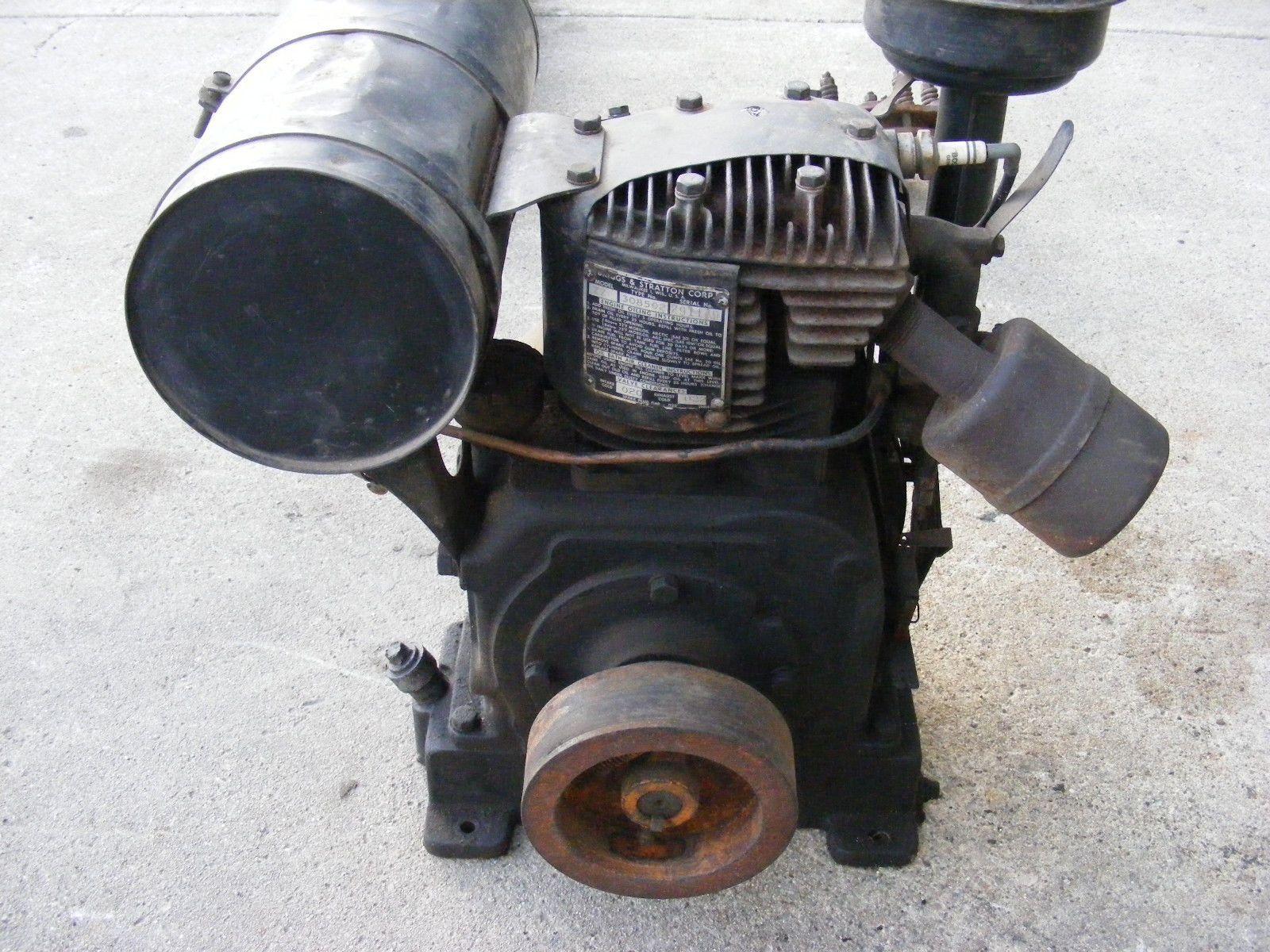 Vintage Engines Motor Briggs Stratton Zz Briggs Stratton Stratton Briggs