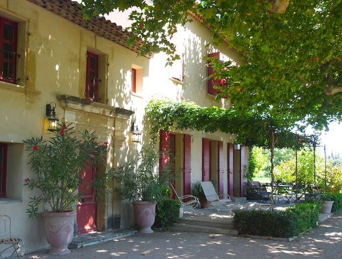 Villa in Provence http://www.onlyprovence.com/villas/platanes/