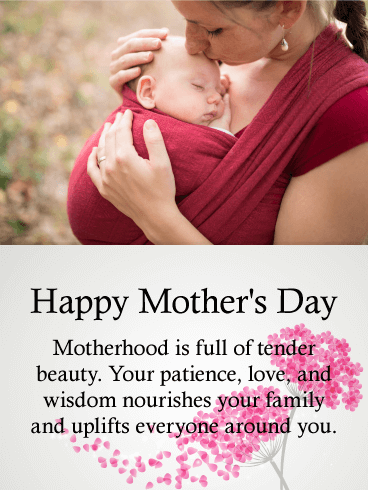 Sweet Happy Mother S Day Card For Daughter Birthday Greeting Cards By Davia Happy Mother Day Quotes Happy Mothers Day Daughter Nurses Day Quotes