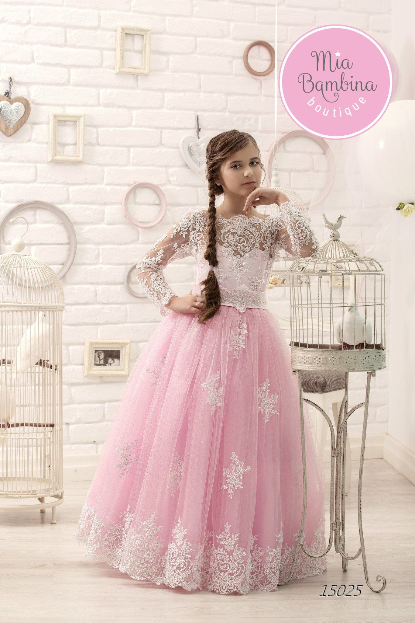 Girls Special Occasion Dresses for Little Fashionistas by MB ...