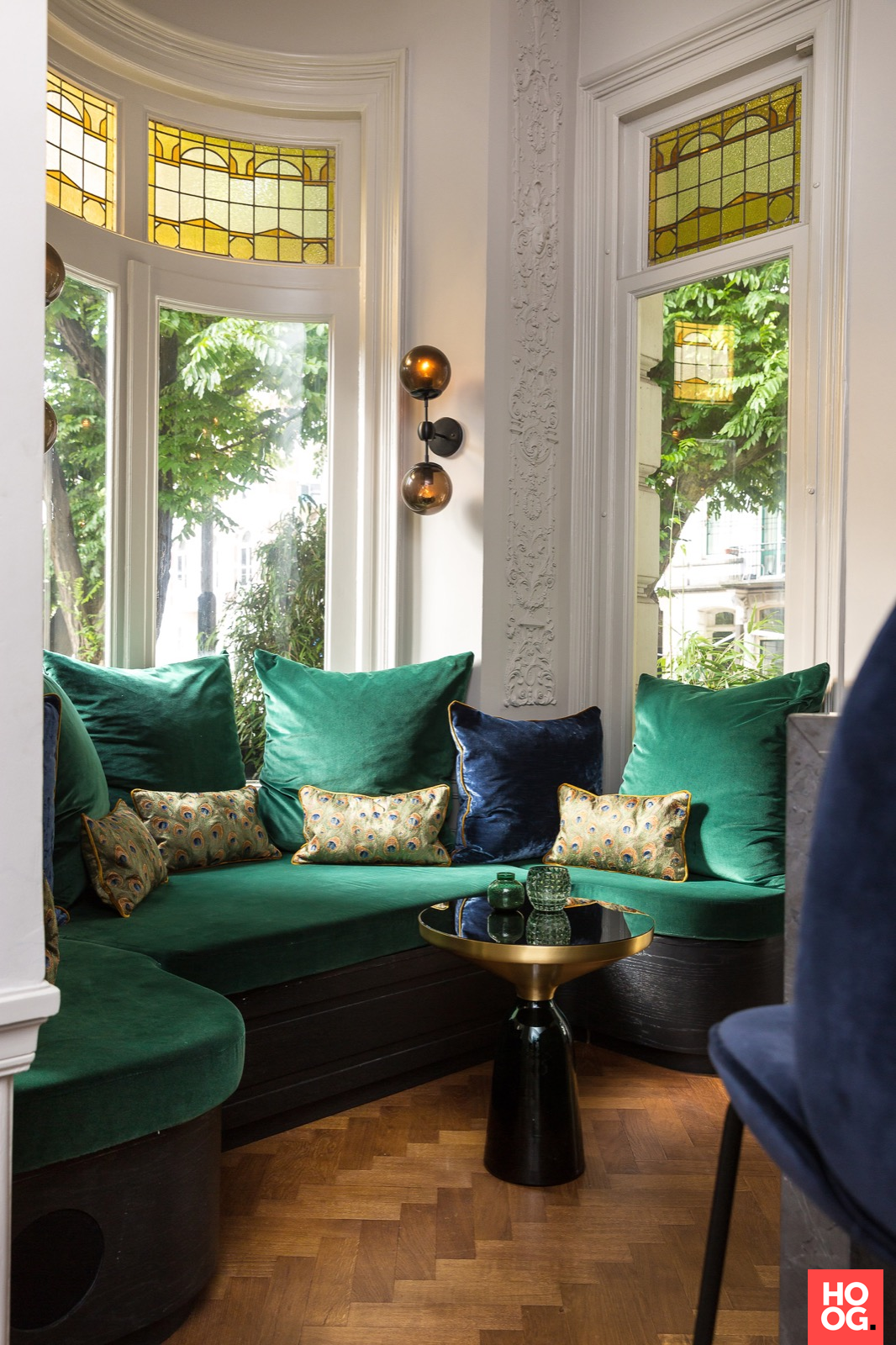Uncommon Objects And Unexpected Materials Surrounded By Royal Blue Deep Green And Gold Rich In 2020 Gold Living Room Decor Studio Interior Blue And Gold Living Room #royal #blue #and #gold #living #room #ideas