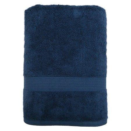 Bath Sheets Target Performance Washcloth Metallic Blue  Threshold™  Target  Rooms
