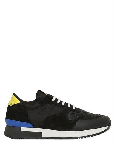 BELSTAFF - SOPHNET LEATHER SNEAKERS - BLACK/GREY | Shoes | Pinterest | Leather  sneakers, Luxury shop and Camouflage