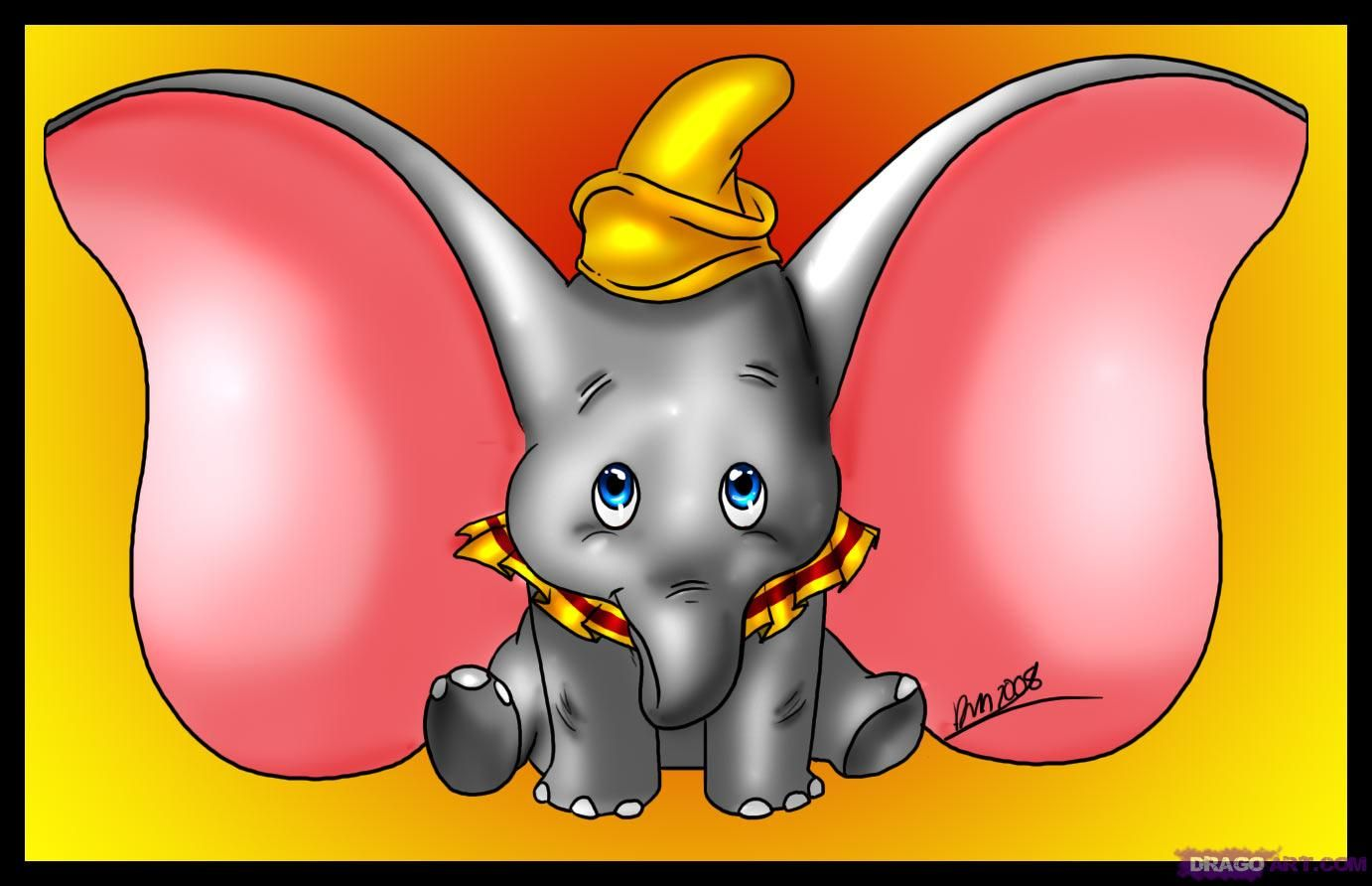 Cartoon Characters Beginning With E : Disney characters that start with s how to draw dumbo