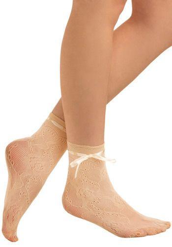 Ivory Steps Socks, #ModCloth