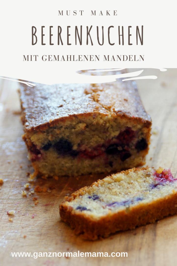Beerenkuchen Mit Mandeln Schnelles Easypeasy Rezept Beerenkuchen Susse Kuchen Kuchen Und Torten