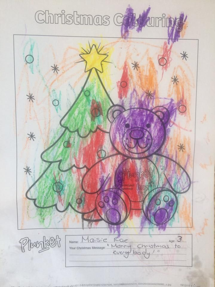 94 Top Christmas Coloring Pages For 3 Year Olds Pictures