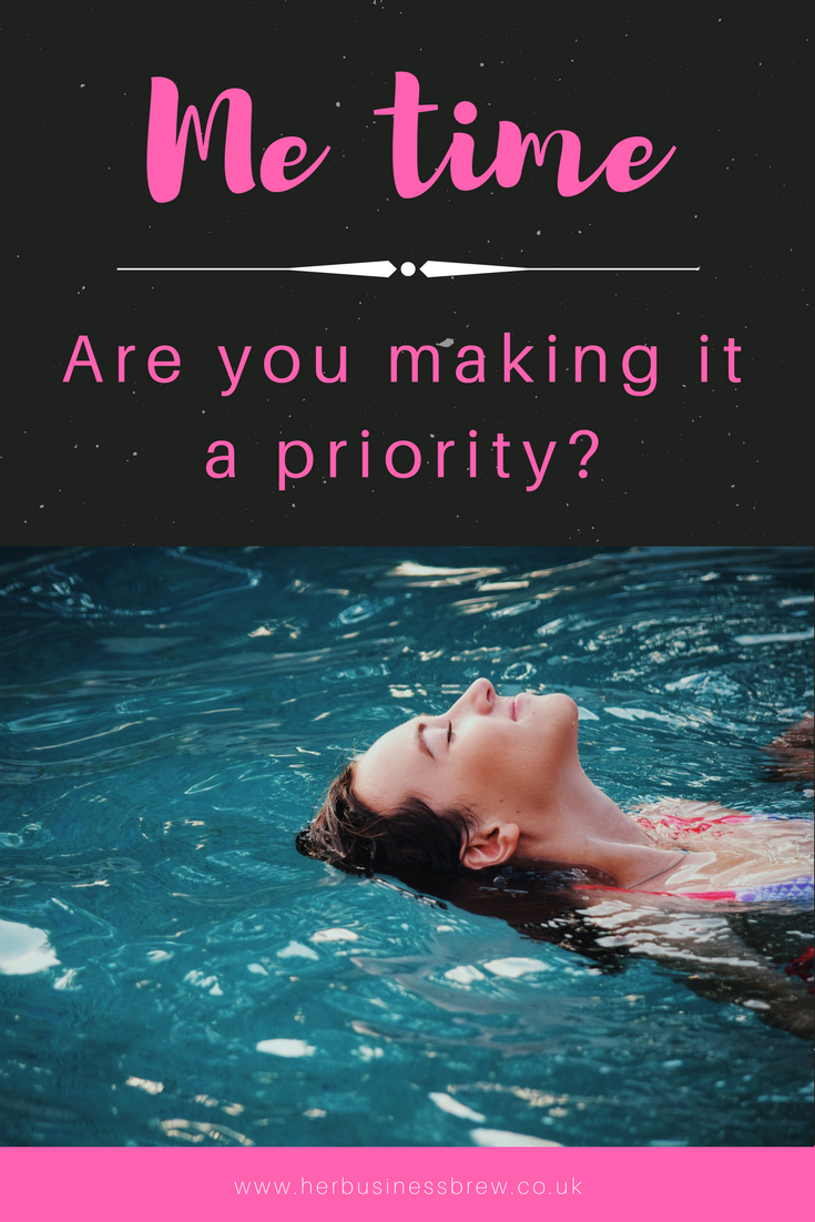 Me time – are you making it a priority?