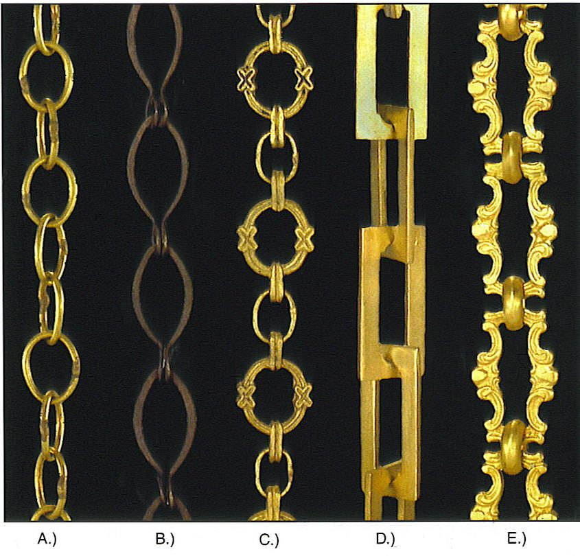 antique brass lamp chain via - Re-casts Of Antique Chains ~ 6 Foot Increments BW Lighting