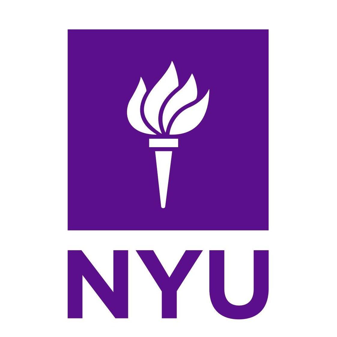 Nyu Logo New York University Journalism College York University Nyu