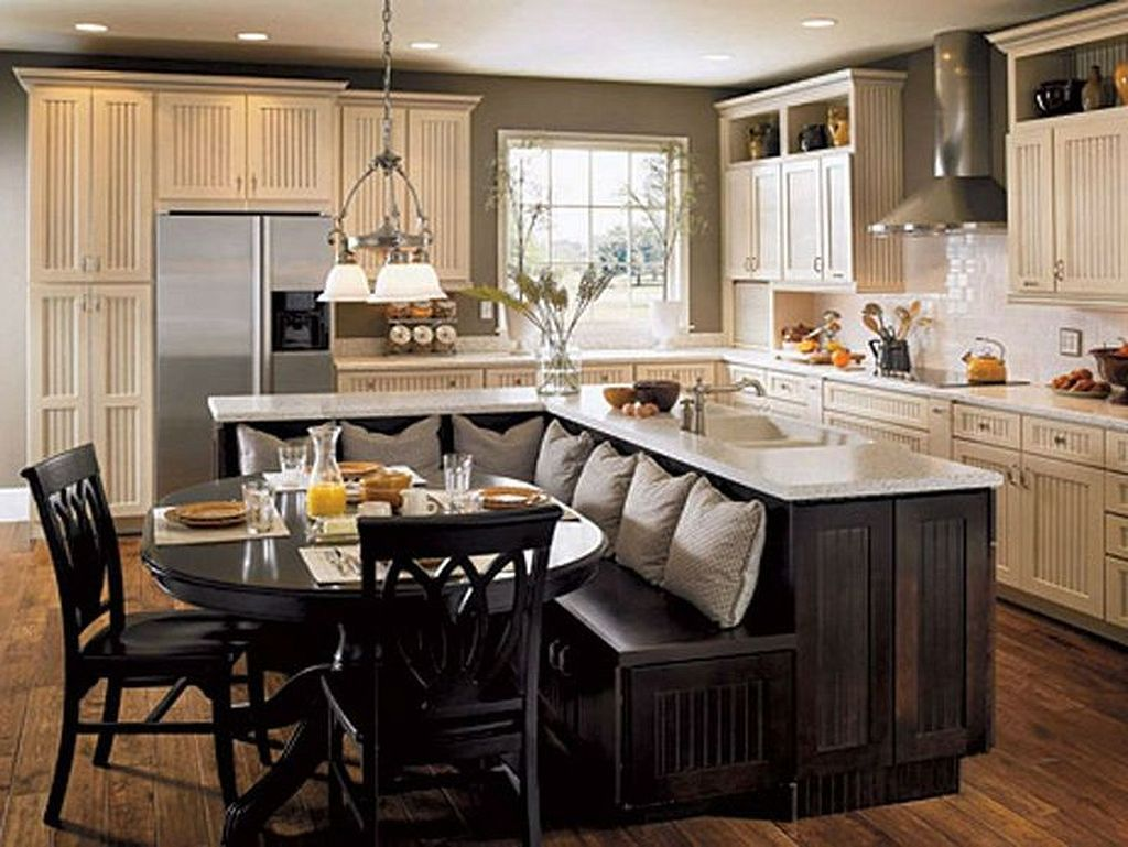 40 Incredible Practical Kitchen Island Designs With Seating