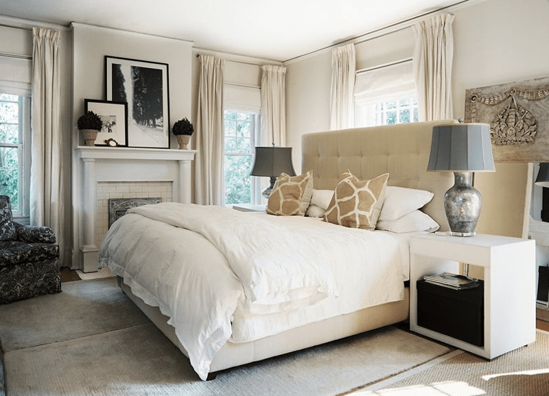 50 Ideas for Placing a Bed in Front of a Window Bedroom