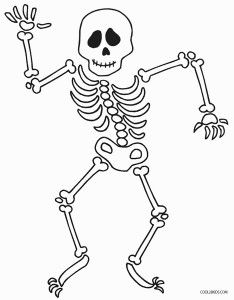 Skeleton Coloring Pages For Kids Coloring Pages For Kids Coloring Pages Coloring Pages To Print