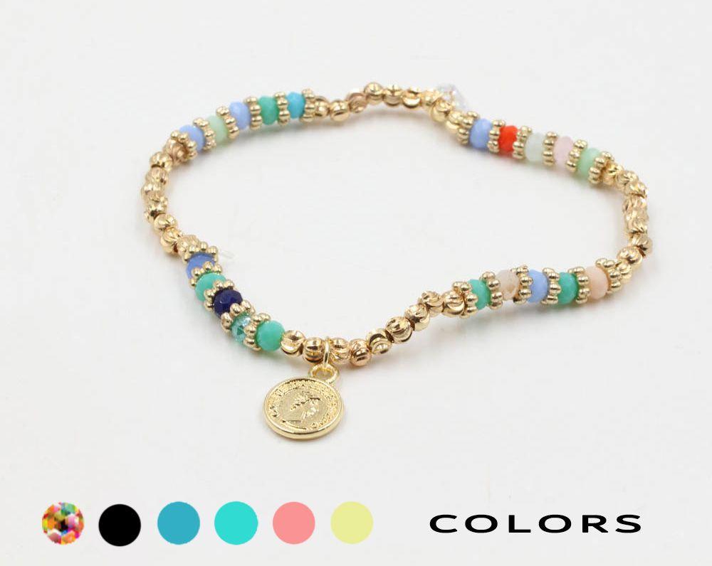 اسوارة كاجوال انيق جنيهات ذهبية متوفر بألوان مختلفة اشتريها الآن 406976 اسواره اساور اكسوارات شنط حقائب فاشن ستايل In 2020 Jewelry Jewels Beaded Bracelets