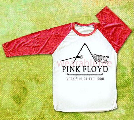 Pink Floyd TShirts Rock TShirts White TShirts Unisex TShirts Women TShirts Men TShirts Raglan Tee Shirts Baseball Tee Red Sleeve TShirts on Etsy, $18.00