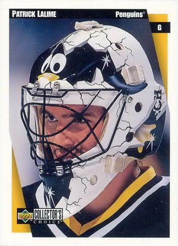 , Patrick Lalime, penguins mask - Google Search