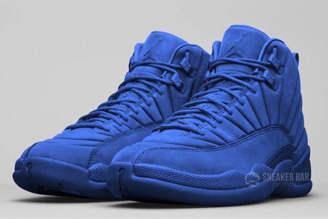 """FollowTheKicks: Air Jordan 12 """"Blue Suede"""" Rumored to Release 2016"""