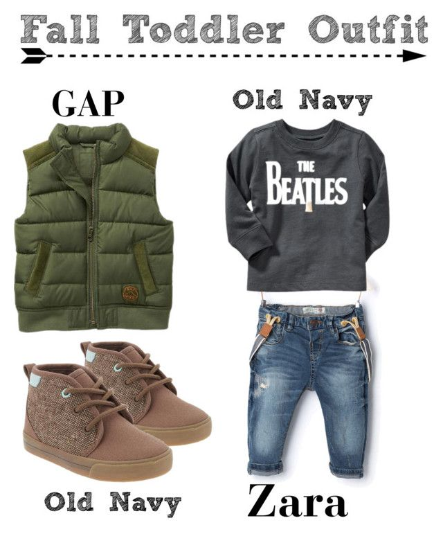2cf2a877 Cozy Fall Toddler Boy Outfit by mrsfriastorres on Polyvore featuring  polyvore, fashion, style, Zara and Old Navy